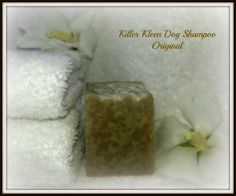 Killer Kleen Natural Dog Shampoo, Original. Your dog deserves healthy skin they are comfortable in. You can help them with canine dandruff, flaky skin, hair loss, sores and other skin conditions by eliminating harmful chemicals in their shampoo. Give it a try, see if you both don't prefer they be Killer Kleen!