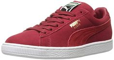 PUMA Men's Suede Classic + Lace-Up Fashion Sneaker, Rio Red/High Risk Red, 12 M US - http://buyonlinemakeup.com/puma/12-d-m-us-puma-suede-classic-causal-basketball-us-9-17