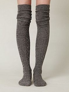 Vintage Sweater Socks