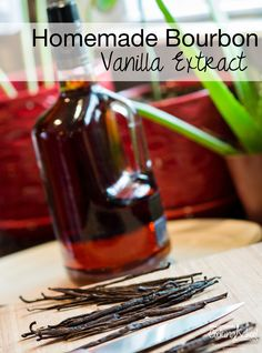 One of the best, most delicious, simplest things I've ever done is make my own vanilla extract. And bourbon vanilla, at that. Here's how to make it. It couldn't be simpler. | TraditionalCookingSchool.com