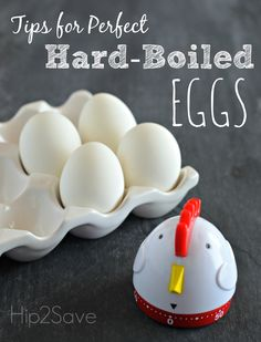 Tips for Perfect Hard-Boiled Eggs by Hip2Save
