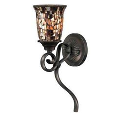 Myers Collection 1 Light Peppercorn Sconce
