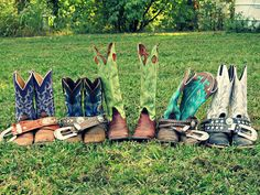 these boots<3 they are all mine :D