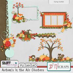 Autumn's in the Air Clusters- B2N2 Scraps