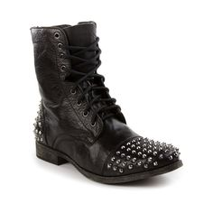 A little flash - manly sparkle Steve Madden Stiefel, Steve Madden Boots, Studded Boots, Men Looks, What I Wore, Combat Boots, Men's Shoes, Footwear, Mens Fashion