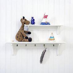 Simple Kids Shelves Oliver Furniture Modern Nursery Art Ideas Playroom