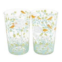 Rob Ryan Set of Two Only Time Glasses