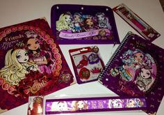 Ever After  High Back To School Supplies Lot NEW Folder Notebook Ruler Eraser Set Pencils Supply Case