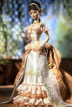 Looking for Collectible Barbie Dolls? Shop the best assortment of rare Barbie dolls and accessories for collectors right now at the official Barbie website! Barbie Blog, Victorian Dolls, Victorian Era, Barbie Collector, Barbie World, Barbie Friends, Barbie Clothes, Barbie Toys, Beautiful Gowns