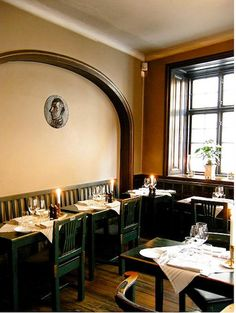 """Opened in 1722, the restaurant Den Gyldene Freden is a """"living example of a typical Swedish 18th-century tavern ..."""""""