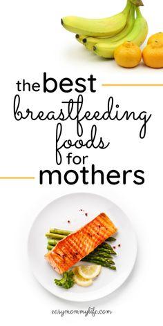 Healthy Food Quotes, Healthy Food List, Good Healthy Recipes, Healthy Foods To Eat, Healthy Snacks, Healthy Eating, Best Food For Breastfeeding, Breastfeeding And Bottle Feeding, Boost Milk Supply