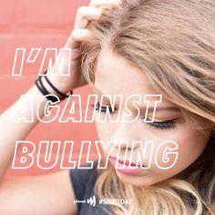 Take the pledge to stand up against bullying!  #glaad #spiritday #nomorebullying #standuptobullying #stopbullying #lgbt #lgbtq