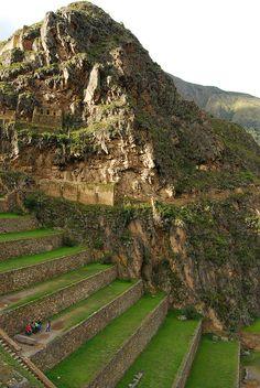 Nuestra visita a la espectacular Ollantaytambo en Perú