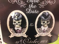 Perfect Halloween wedding sign