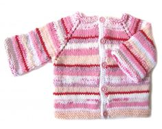 KSS pink Candy Cane Sweater/Jacket (18 Months)