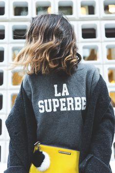 Abrigo/Coat: Mi&Co  Sudadera/Sweatshirt: Sézane x Madewell