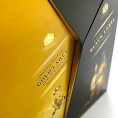 Made from mirror finish carton board, the pack is folded and constructed to… Carton Board, Red Rope, Luxury Packaging, Packaging Ideas, Scotch Whisky, Bottles, Alcohol, It Is Finished, Beer