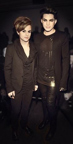 Adam Lambert&Tommy Joe Ratliff