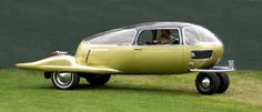 """""""The 1969 prototype. Well it was the 🌈 5 made between with engines, all survive. Strange Cars, Weird Cars, Cool Cars, Counting Cars, Automotive Design, Auto Design, Retro Futuristic, Unique Cars, Us Cars"""