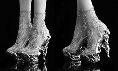 LOVE LOVE LOVE THESE!!! Darling! I would love to get married in these shoes... Wonder if they come in an 11? ROFL!