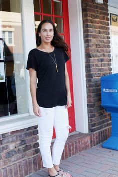 Styling the Perfect Boyfriend Tee