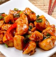 Don't let Chinese Take-Out favorites be your clean-eating downfall! This slow cooker recipe for orange chicken is a skinny version that won't disappoint!
