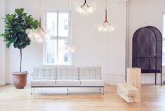 Design brand PELLE moved their showroom and offices from Brooklyn's Red Hook to Manhattan's Flatiron neighborhood into a light-filled, gallery-like space.