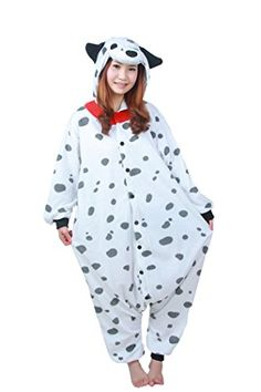 WOTOGOLD Animal Cosplay Costume Dog Unisex Adult Pajamas White M >>> Find out more about the great product at the image link-affiliate link