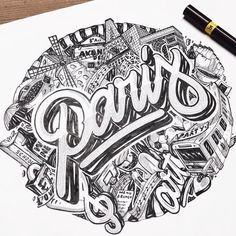 Chill Out – Le hand lettering par Nairone