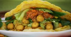 What's Cooking in your World?: Day 179! Trinidad and Tobago ~ Doubles ~ Barra with Channa and Cucumber Chutney - Up Next, Tunisia