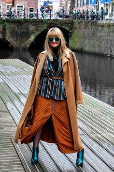 polka-dots-skirt-stripes-jacket