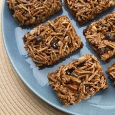 These yummy no-bake bars are easy to make and even easier to eat! Chewy-gooey with peanut butter, honey, raisins and All-Bran® cereal, they're a delicious way to boost your intake of fiber. The perfect take-along snack to keep you going all day!