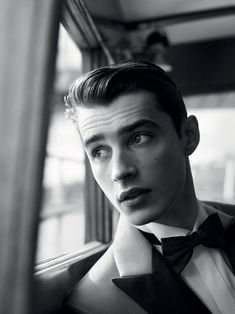 What a handsome man,  Mr. Adrien Sahores the model