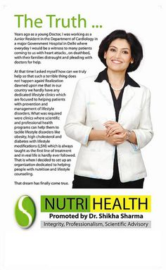 Dr. Shikha Sharma Nutri-Health Systems, has been actively working on weight management and lifestyle disorders. We have always believed in natural ways of achieving health.At our organization , we offer a scientifically designed program based on 'NUT . post pregnancy diet info. http://whattoknowaboutpregnancy.com/postpregnancyweightloss/post-baby-diet-tips/