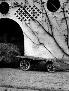 Paul Strand (American, 1890 - 1976). The White Barn, Luzzara, Italy, 1953. Philadelphia Museum of Art. http://www.philamuseum.org/collections/permanent/73814.html