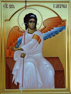 Дођи и види: САБОР СВЕТОГ АРХАНГЕЛА ГАВРИЛА Archangel Gabriel, Archangel Michael, Byzantine Icons, Byzantine Art, Religious Icons, Religious Art, Saint Lazarus, Greek Icons, Madonna Art