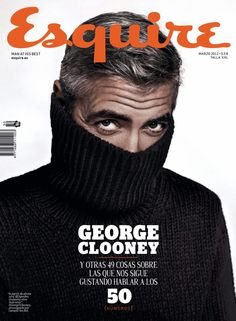 awesome.. Esquire Spain, George Clooney
