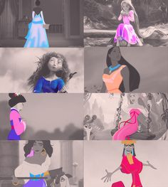 I'm not sure who created this, but kudos to you for including Kuzco in with a bunch of ladies. Because, let's be honest, it works.