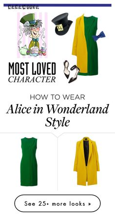 """""""Chic Mad Hatter"""" by nakaweesa on Polyvore featuring Cédric Charlier, Barneys New York, 3.1 Phillip Lim, genderbend and MostLovedCharacter"""