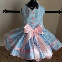 Check out what was just added! #Itsadogthing http://www.barklabel.com/products/blue-plaid-with-pink-trim-dog-dress?utm_campaign=social_autopilot&utm_source=pin&utm_medium=pin www.barklabel.com