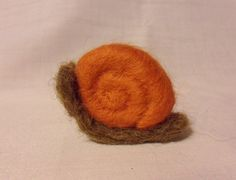 Needle Felted Snail