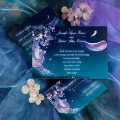 Beautiful Romantic Fairytale Wedding Invitations