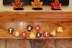 Easy DIY Thanksgiving Decor