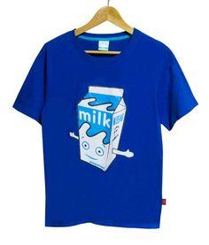 【Blur Milk Boy】ブラー ミルクボーイ Tシャツ ブルー(S・M)5