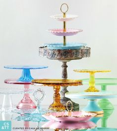 CdP Cake Stands and Tidbits