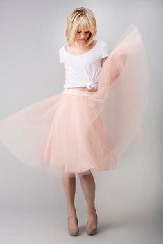 40 Formas de usar tu Tulle Skirt o Falda de Tul                              …