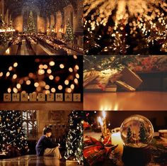 christmas at hogwarts aesthetic Harry Potter Anime, Images Harry Potter, Harry Potter Hogwarts, Hogwarts Christmas, Winter Christmas, Christmas Time, Christmas Tree Ornaments, Christmas Crafts, Wallpaper Natal