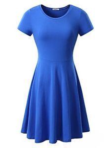 HUHOT Women Short Sleeve Round Neck Summer Casual Flared Midi Dress :https://www.amazon.com/HUHOT-Sleeve-Summer-Casual-Flared/dp/B079186WC2/ref=pd_sim_193_9?_encoding=UTF8&pd_rd_i=B01JOCAJMS&pd_rd_r=PDCNNQ739J50ZNF9CFND&pd_rd_w=kXPGI&pd_rd_wg=OjsJ8&refRID=PDCNNQ739J50ZNF9CFND&th=1
