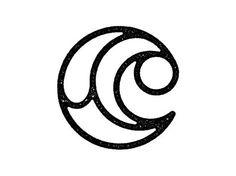 C logo design. Nice concept of c letter logotype Typography Logo, Graphic Design Typography, Logo Branding, Branding Design, C Logo, Branding Ideas, Lettering, Logos Online, Logo Luxury
