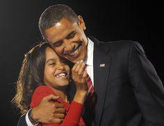 Malia and Sasha Obama's Cutest Moments With Dad Barack